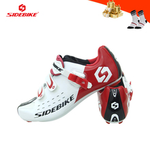 SIDEBIKE Road bike shoes men women athletic racing bicycle sneakers self-locking breathable riding cycling shoes Wear-resistant