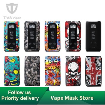 Originele Thinkvape Thor Pro 220W Tc Doos Mod Denken Vape Thor Pro Bypass Vape Mod Modi 510 E Sigaret mod Vape Gebruik 18650 Batterij