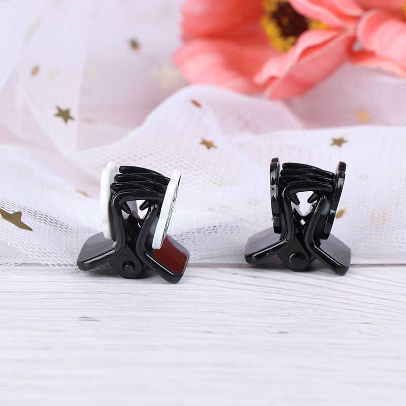 Mode Headwear Mini Kamelie Blume Krabben Klaue Clip Für Frauen Mädchen Hochzeit Haar Schmuck Haar Feeder Schachtelhalm Clip Zubehör