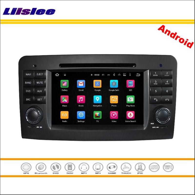 Liislee Android Multimedia For <font><b>Mercedes</b></font> Benz <font><b>ML</b></font> <font><b>W164</b></font> / GL X164 2005~2012 Stereo <font><b>Radio</b></font> CD DVD Player GPS Navi Navigation System image