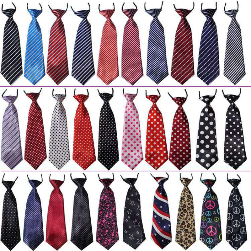 Image 2 - 100PC/Lot Stripes Large Dog Ties Neckties For Big Dogs Grooming 