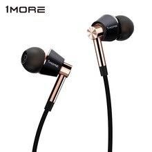 Original E1001 1 MORE Triple DRIVER In Ear หูฟังพร้อมไมโครโฟนสำหรับ Xiaomi Mi Redmi Samsung Mp3 หูฟังหูฟังหูฟัง