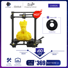 Anycubic Chiron 3D Printer Plus Size Tft Auto Leveling Extruder Dual Impressora 3D Printer Kit Diy Gadget 3d Drucker