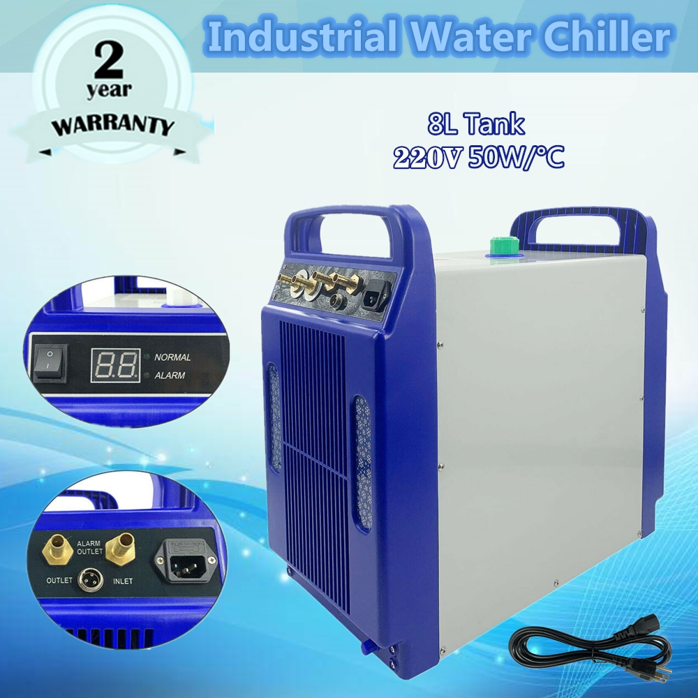 24L/min Industrial Water Chiller Cooler Co2 Laser Engraver Tube Laser Tube Engraver Machines CW-3000