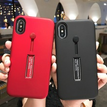 Loop Ring Phone Case For iPhone 12 mini XR 11 Pro XS Max SE 2020 7 8 P