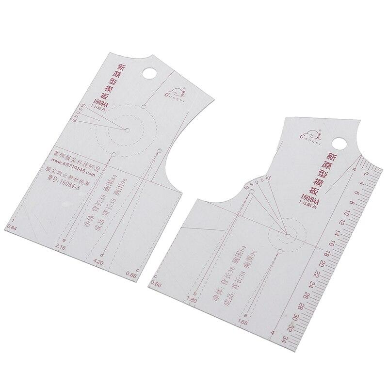 1:5 Fashion Cloth Design Ruler Crop Mold School Student Teaching Apparel Drawing Template Garment Prototype Ruler