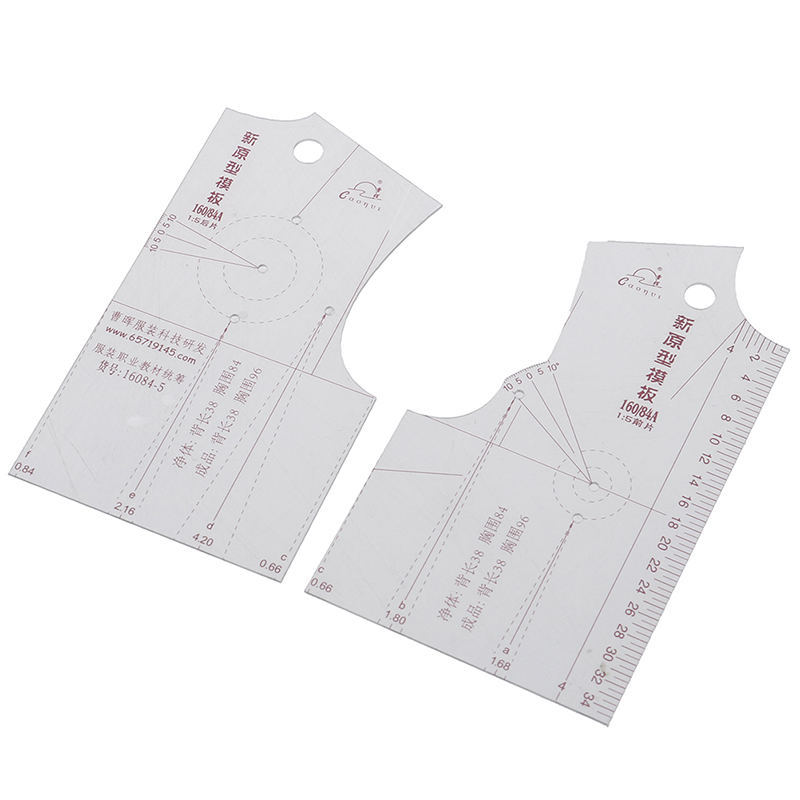 1:5 Women Clothes Prototype Ruler Drawing Template Tools Sewing Accessories