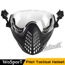 New Airsoft Military Mask From The Wargame Army Motorcycle Cycle Cycle Hunting Helmet Equitation For Free Air Activities tactical helmet with mask military paintball airsoft army wargame motorcycle cycling hunting riding outdoor activities