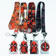 Cartoon Neck Strap Lanyards for keys ID Card Gym Mobile Phone Strap USB Badge Holder