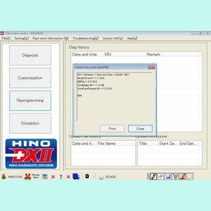 Image 3 - 2020 עבור Hino אבחון EXplorer 2 עבור Hino DX2 v1.1.20.8 + והמעורער מסד הנתונים + סדק Activator