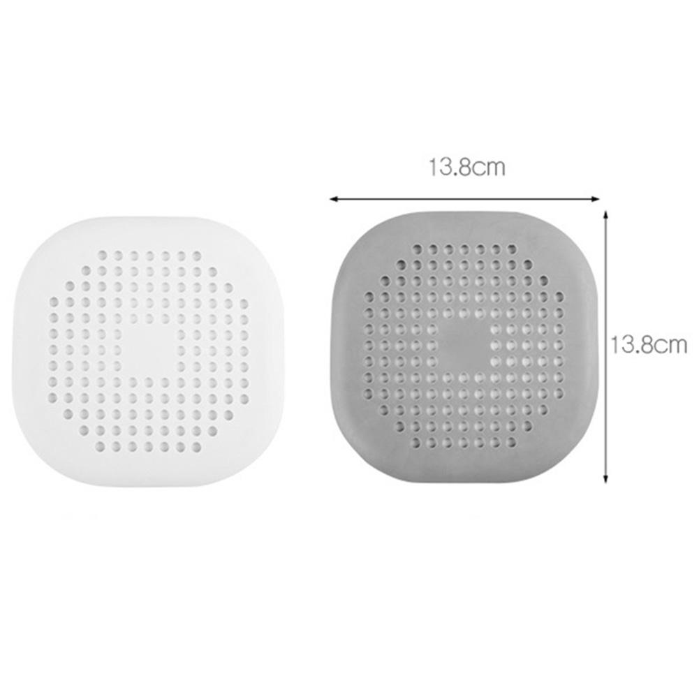 Kitchen Gadgets Accessories Outfall Drain Covers Basin Sink Strainer Filter Shower Hair Catcher Stopper Plug Filter With Sucker in Hair Stoppers Catchers from Home Garden