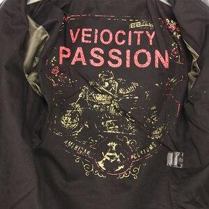 Image 2 - MAPLESTEED veste dhiver en cuir homme, classique, mince et mince, pour motard, marron, 5XL M190, 100%