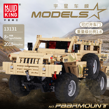 Technic Series MOC-4731 Marauder Car Model Building Blocks Off-Road Climbing Truck Bricks Compatible lepining Toys For Children new 50pcs cross axle series bricks model building blocks toy boy technic parts children toys compatible with lego bricks