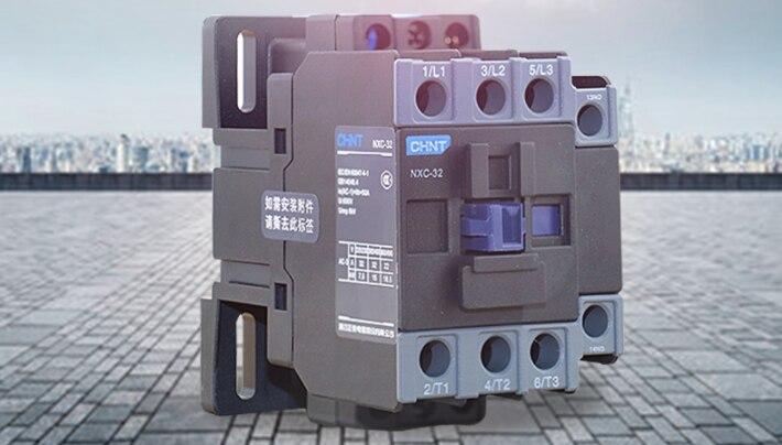 Новый CHNT NXC-32 контактор переменного тока Бесплатная доставка