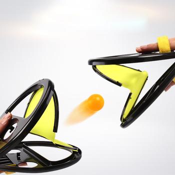 Outdoor rodzic-dziecko Fitness zabawka piłka dla dzieci ręka łapanie piłka dla dorosłych kryty rzucanie i łapanie piłka NTDIZ1004 tanie i dobre opinie DUDU DIDI CN (pochodzenie) Z tworzywa sztucznego Chwytając ruch zdolność rozwoju 20CM Other 3 lat Tenis Unisex catch ball