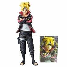 Figuras de acción de Naruto Shippuden Shinobi, Uzumaki, juguete de modelos coleccionables, regalo de PVC, 23cm