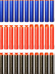 Toy-Gun Toys Refill-Darts Bullets Military-Gift Nerf-Series Soft Children 100pcs And