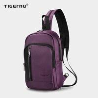 Tigernu Hohe Qualität USB Lade iPad Frauen Wasserdichte Schulter Tasche Rucksack Licht Gewicht Mode Casual Mini Taschen Für Frauen