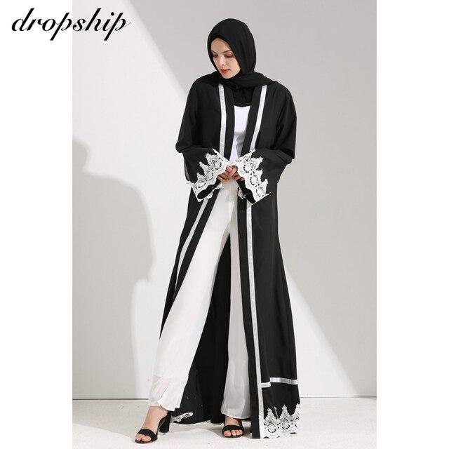 Dropship 2019 שמלת נשים שמלות זול מכירה מקסי ארוך בציר Vestidos Verano Robe Femme מוסלמי Boho רקמת Loose O צוואר