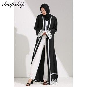 Image 1 - Vestido largo clásico para mujer, ropa de Verano, Bohemia, bordada, holgada, con cuello redondo, gran oferta barata, 2019
