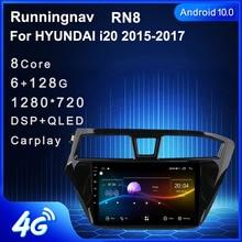 Android 10.1 için HYUNDAI i20 2015 2016 2017 multimedya Stereo araç DVD oynatıcı oynatıcı navigasyon GPS radyo