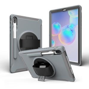 "Image 4 - Чехол для планшета Samsung Galaxy Tab S6 10,5 ""T860 2019, ударопрочный Прочный жесткий чехол для Samsung Tab T860, чехол с подставкой"