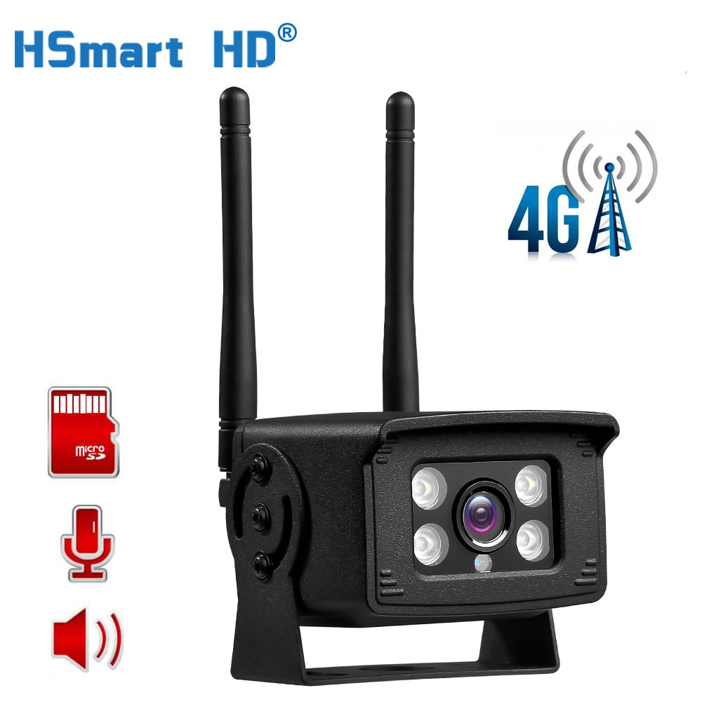 4G HD Kamera IP 1080P 5MP <font><b>3G</b></font> <font><b>Sim</b></font> Karte Kamera Metall Fall Freien WIFI Kamera Wireless MINI CCTV P2P Für Auto APP CamHi image