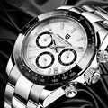PAGANI Дизайн 2020 мужские спортивные часы Seiko move мужские роскошные деловые мужские водонепроницаемые наручные часы Новая мода повседневные муж...