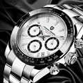 PAGANI تصميم 2020 الرجال الساعات الرياضية الفاخرة رجال الأعمال مقاوم للماء ساعة اليد موضة جديدة ساعة رجالي عادية relogio masculino
