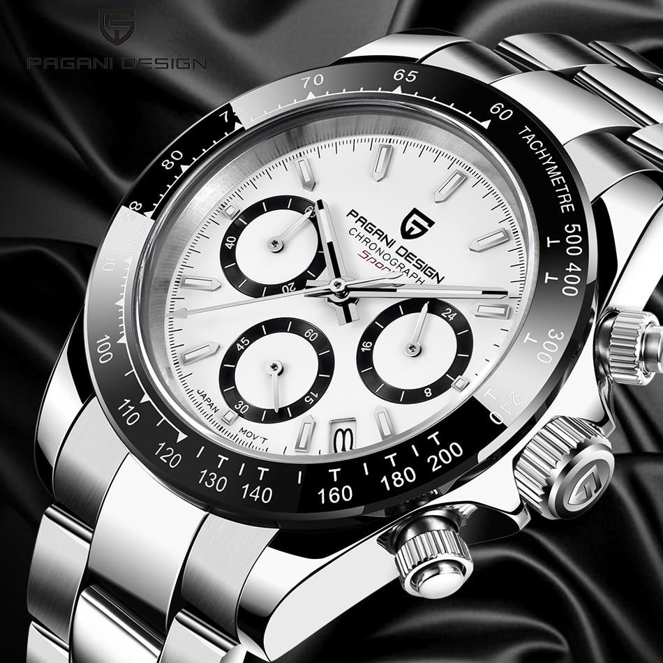PAGANI DESIGN 2020 Men Sports Watches Seiko Movement Luxury Business Mens Waterproof WristWatch New Fashion Casual Male Watch