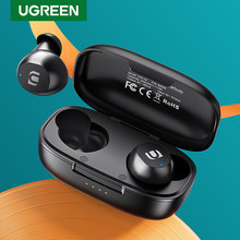 UGREEN – écouteurs Bluetooth TWS, oreillettes sans fil, casque d'écoute stéréo pour Sport