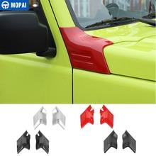 MOPAI Car Stickers for Suzuki Jimny JB74 Car Engine Angle Cover Hood Decoration Cover Accessories for Suzuki jimny 2019 2020