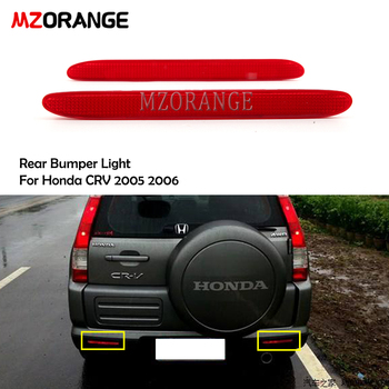 MZORANGE Rear Bumper Light For Honda CRV 2005 2006 For Acura TSX Euro ACCORD CL7 CL9 04-08 Tail Brake lamp car light image