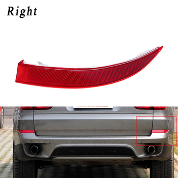 Car Rear Right Bumper Reflectors Red Lens Light Replacement For BMW X5 E70 2011-2013 Reflective Strips 63147240998 image