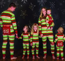 Family Look Onesies Christmas Pajamas Family Matching Outfits Mother Daughter Father Son Baby's Clothes Christmas Family Pajamas(China)