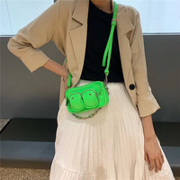 Casual Candy Colors Messenger Bags for Women Fresh Pu Leather Shoulder Bags Ladies Fashion Handbags Crossbody Simple Bag Flap
