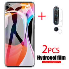 3 In 1 Voor Xiaomi Mi 10 Mi 10pro 5G Glas Hydrogel Film Camera Lens Screen Protector Glas Voor xiaomi Mi10 Pro 5G Mi10pro Film(China)