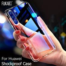 Odporna na wstrząsy etui do Huawei P20 P30 P10 Lite mate 20 10 Pro P Smart 2019 etui na Honor 9 10 Lite v10 Nova 3 3i 2i 3E tylna pokrywa tanie tanio FUKABO Aneks Skrzynki shockproof Case P20 Lite 5 84 Zwykły Przezroczysty Anti-knock Heavy Duty Ochrony For Huawei P30 Shockproof Case Cover