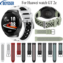 Silicone-Band Bracelet-Belt Huawei Watch Wristband Original Sport for GT 2e Smart Official-Style