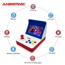 ANBERNIC 레트로 MINI TV 미니게임기 콘솔 64 비트 레트로 비디오게임을 내장형 3000 게임 휴대용게임기 플레이어 최고의 선물