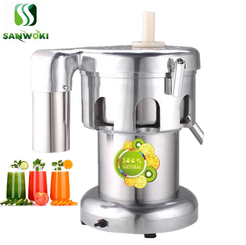 US $199.0  Industrial juicer machine Fruit Vegetables Drinking Machine carrot juicing machine cucumber juice squeezing machine blender Juicers 