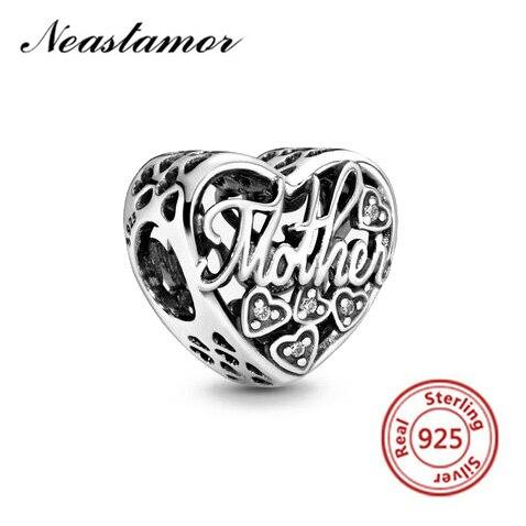 Полый Микки жизнь дерево подвеска в форме короны подходит Pandora браслет или ожерелье с шармами брелок ювелирные изделия для женщин мужчин решений - Цвет: A002 heart