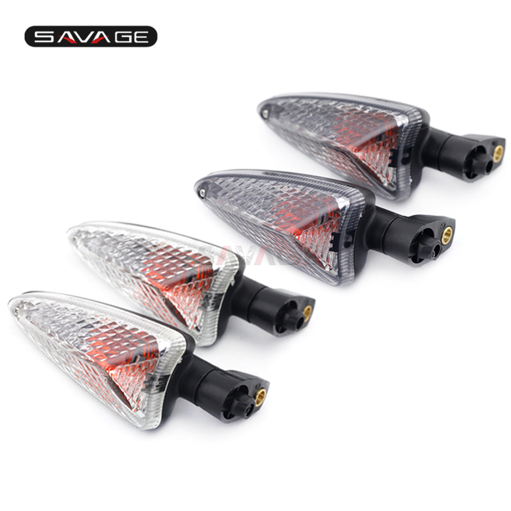 Front Rear Turn Signal Light Lamp For Aprilia RSV4R RS4 SR Motard 125 SXV550 Caponord 1200 Motorcycle Parts Blinker Indicator