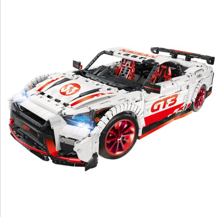 IN STOCK 23010 MOC Technic Series Sports RC Car Racing Drift APP Remote Control Building Blocks Bricks Kids Toys Christmas gift 1