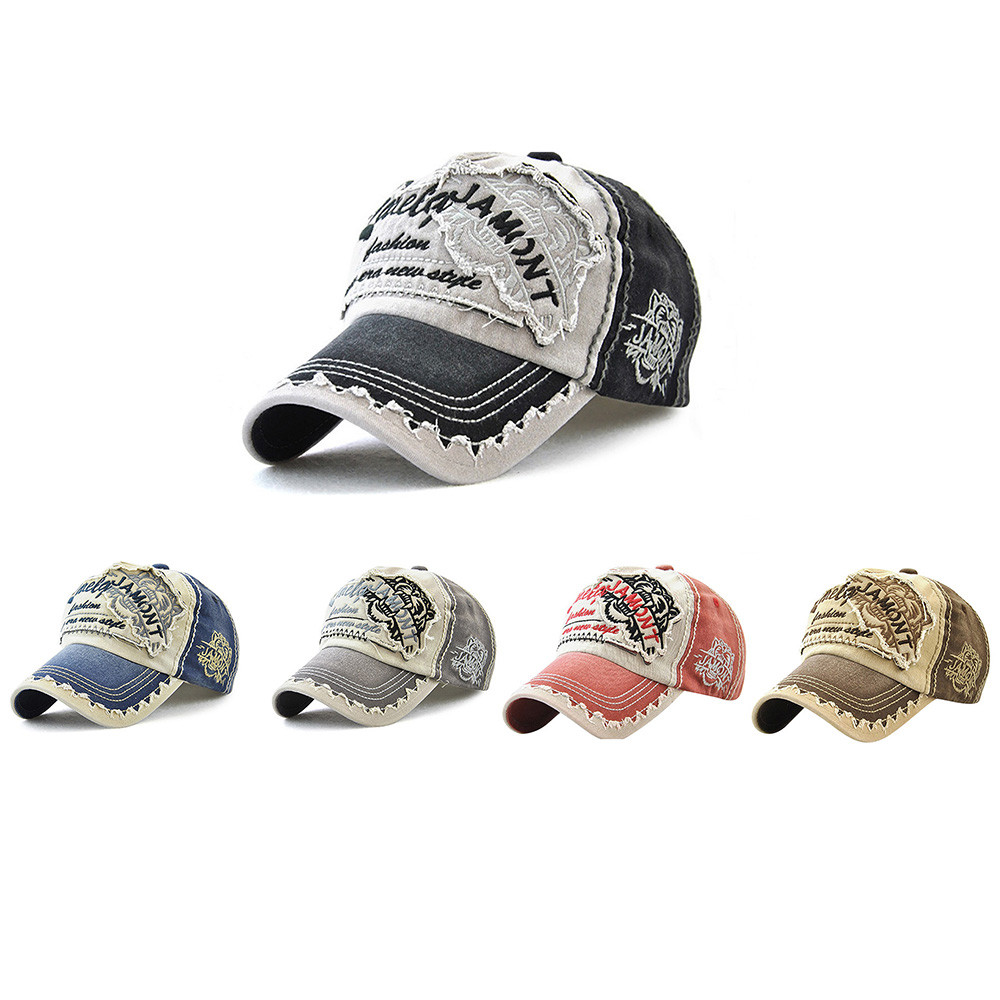 Women Embroidered Flower Denim Cap Fashion Baseball Cap Topee Casual Hats Summer Letter Mesh Caps Peak Caps Gorros#T2 6