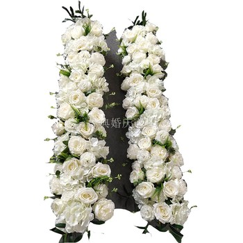 Wedding flower for arch Wedding background flowers Artificial roses