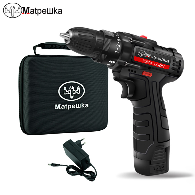 12V electric screwdriver cordless Electric drill rechargeable batteries mini torquing power tools or battery Capacity display