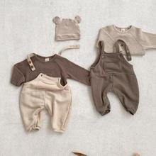 Outfits Clothing Jumpsuit Baby Overalls Toddler Girl New T-Shirts Long-Sleeve Boys Kid