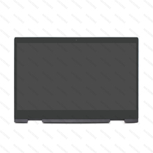 LP156WF9.SPL1 LED LCD Touch Screen Glass panel Assembly With Bezel For HP Envy x360 15-bp 15m-bp 15-bq 15m-bq 925736-001 цена и фото