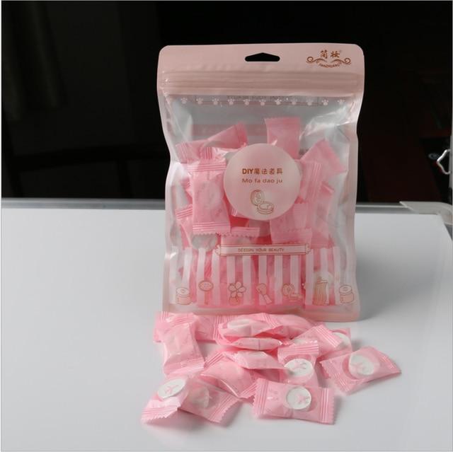 50pcs / 20pcs lot Outdoor Travel Magic Compressed Disposable Towel Tablet Capsules Cloth Wipes Paper Tissue Mask